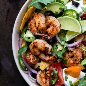CaboWabo Shrimp Salad